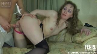 Russian Mature in Pink Panties