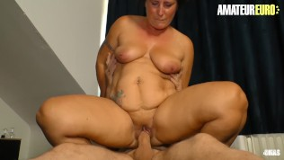 AmateurEuro – Mature German Granny Drilled Hard While Husband Is At Work